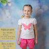 Фуфайка (футболка) для девочки