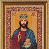 """Канва с рисунком для вышивания бисером """"Господь Вседержитель"""", формат А3, арт. БИС-1209"""