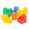 Набор №543: Формочки (замок мост + замок башня + замок стена с одной башней + замок стена с двумя ба