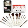 Набор кистей для макияжа KYLIE Professional Brash Set в металлическом кейсе (12 шт.)