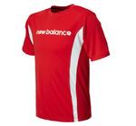 new balance Boy's Athletic Short Sleeve Top