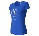 new balance Women's NYC Marathon NB Ice Short Sleeve