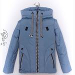 Демисезон весна осень детская подростковая курточка жилетка для девочки Сова
