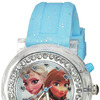 Disney Kids' FZN3564 Frozen Anna & Elsa Flashing Blue Watch