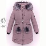 Зимняя детская подростковая куртка пальто парка девочка Арина А