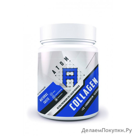 АТОМ Collagen Ca+Chondroitin+Glucosamine Powder, 200г