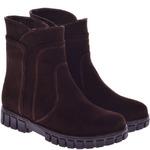 Подростковые замшевые ботинки (байка/экомех/цигейка - на выбор)