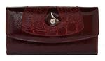кошелек женский (темный гладкий)## гр02-223-0951-3251