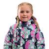 Куртка дев. детск. SNOWEST SG631-2 розовый/т.синий/зелён.