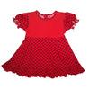 """Платье """" Машенька """" Красный"""