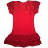 """Платье """" Горох """" Красный"""