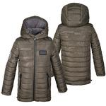 Зимняя куртка парка для мальчика на флисе Размер 34-46