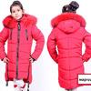 Зимние куртки и пуховики для девочек на флисе
