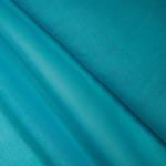 Ткань на отрез ситец гладкокрашеный 80 см 65 гр/м2 цвет бирюзовый (за 1 м)