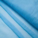 Ткань на отрез ситец гладкокрашеный 80 см 65 гр/м2 цвет голубой (за 1 м)