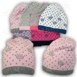 Вязаная шапочка для девочки, Grans (Польша)