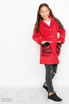 Пальто с отделкой