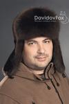 Ушанка мужская Норка, Соболь