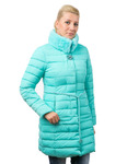 Диор куртка зимняя (бирюза)
