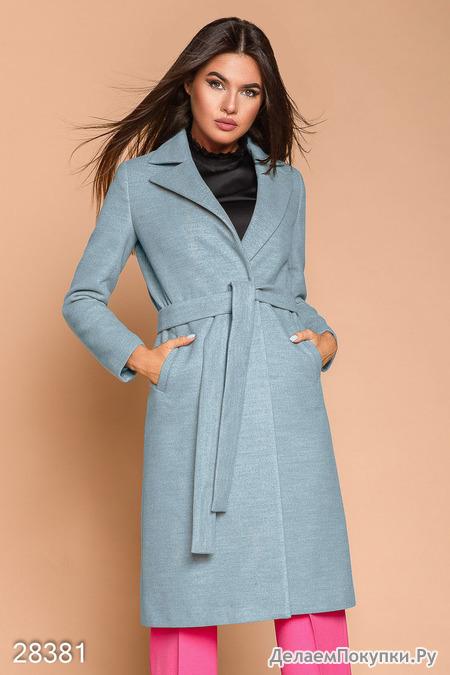 ee2723e6c0f Двубортное женское пальто - купить со скидкой