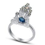 Серебряное кольцо Артикул: 210172-229mix1-113