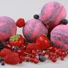 Бурлящие шарики «Красные ягоды» с пеной 130 г