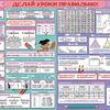 Плакат школьный Делай уроки правильно 3-4 класс 0800410