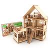 Кукольный домик с мебелью ( КД-10-0033)
