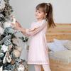 Детское платье-трапеция с зигзагообразным рисунком