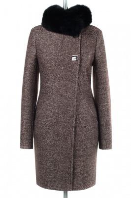 Пальто женское утепленное вареная шерсть