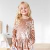 Детское платье с аккуратным вырезом