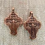 Крест «Царь славы» №4