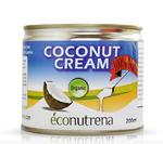 Кокос, сливки Econutrena, жирность 22%, органика, ж/банка