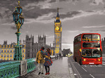 Рисунок на канве МАТРЕНИН ПОСАД арт.37х49 - 1723 Небо Лондона