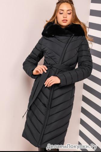 Пальто Фелиция 2  Черный