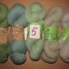 Набор №5 из пряжи Klippan Saule, Новозеландская 100% шерсть, 500 гр (в наличии 1 набор)