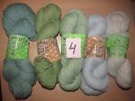 Набор №4 из пряжи Klippan Saule, Новозеландская 100% шерсть, 500 гр (в наличии 1 набор)