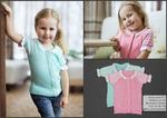 Кофта для девочки на пуговицах с кор.рукав 0119305 от Лютик, цвета мята, розовый