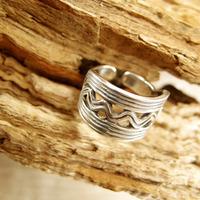 Кольцо «Варяжское море». Серебро 925