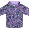 4611 Куртка для девочек на флисе