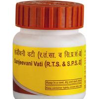 Сандживани Вати, противовирусное средство, 80 таб, Патанджали; Sanjeevani Vati, 80 tabs, Patanjali