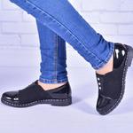 Женские комбинированные туфли с декором