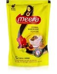 Сухой травяной шампунь Мира, 80 г, производитель Кевин Кейр; Meera Herbal Hairwash Powder, 80 g, CavinKare