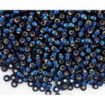 Бисер чешский 67100 т.синий