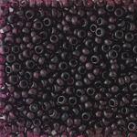 Бисер чешский 20060 черно-фиолетовый