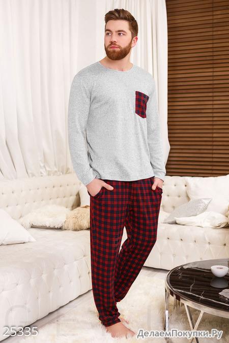 Домашний мужской костюм - купить со скидкой   «Делаем покупки» aa22eec50e9