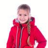 Демисезонные куртки для девочек отстежные рукава
