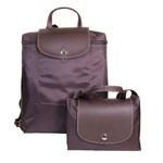 1-37 ПОЛИЭСТЕР/КОРИЧНЕВЫЙ (Antan) сумка-рюкзак складной
