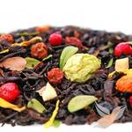 Новинка февраля! Черный ароматизированный чай / Рябиновые бусы