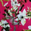 выкуп 26: академик принт розовый с цветами (за 0,5 м)